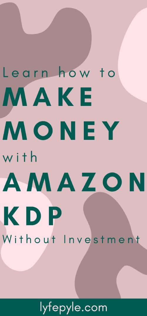 How to create low content books to sell on Amazon KDP
