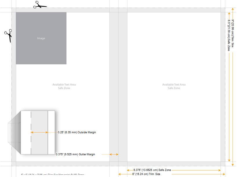 Amazon KDP 6x9 Page Size