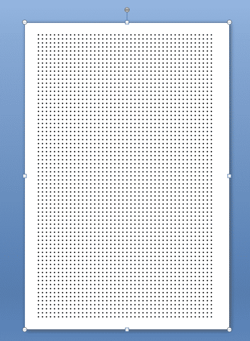 How to make dot grid paper in Inkscape