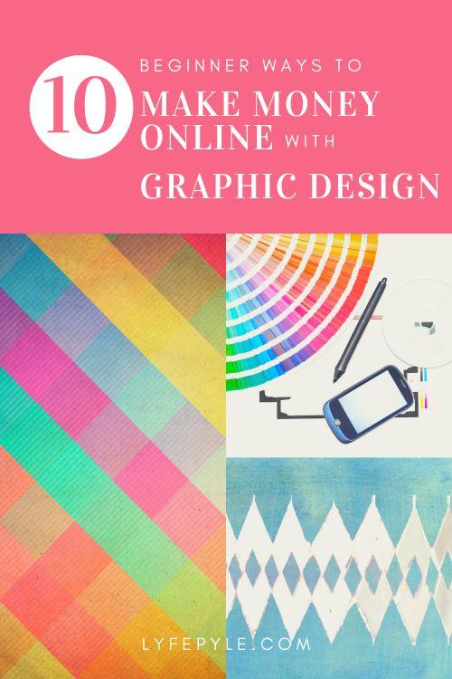 beginner ways to make money online with graphic design
