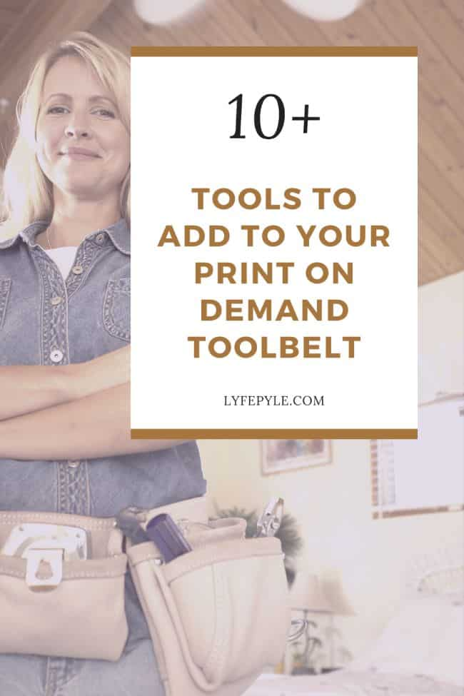 tools to add to you print on demand tool belt pin